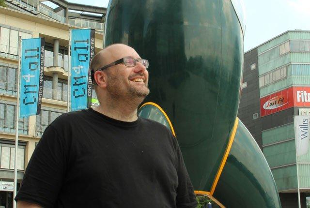 Gründer der Deutschen Cyborg Gesellschaft: Enno Park