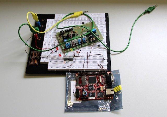 Der Steckplan für eine Sensorschaltung