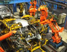 Roboter fast unter sich